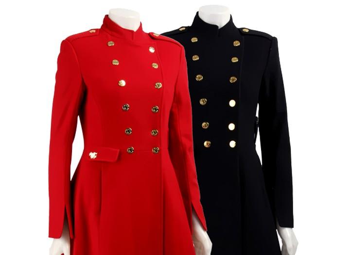 Overstock sells Betsey Johnson coats, $214.99