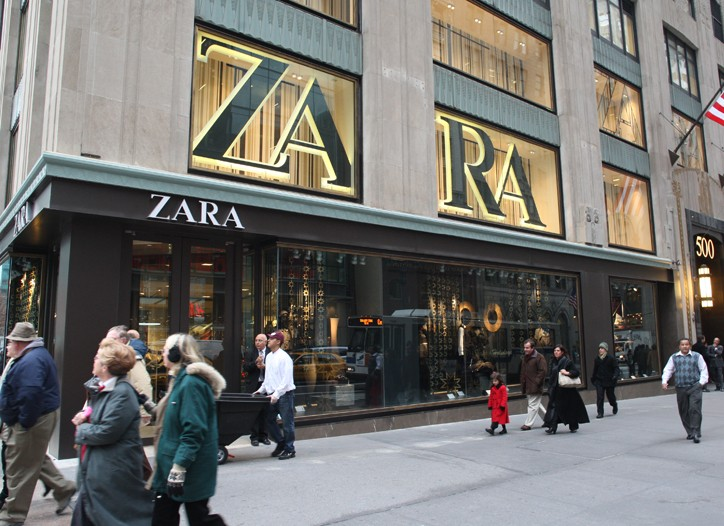 The new Zara flagship.