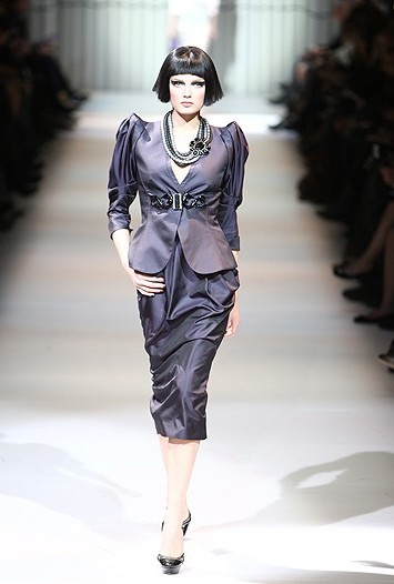 Giorgio Armani Privé spring couture 2009.