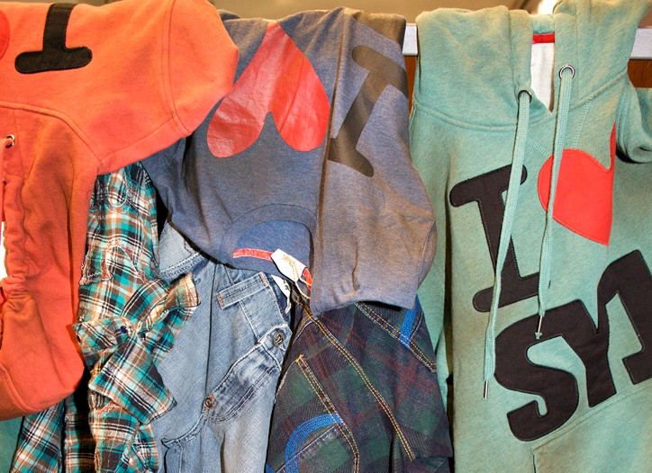 Sweet Years offered checks and Western shirts.
