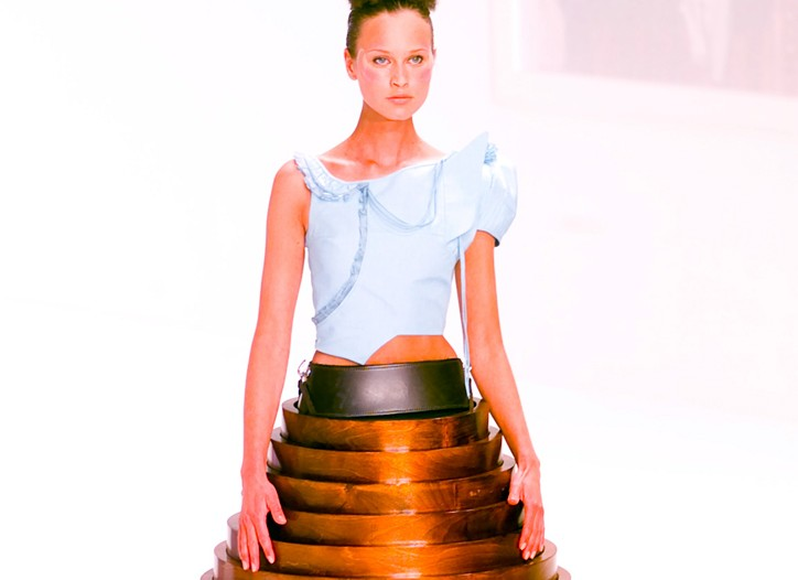 Hussein Chalayan's table dress.