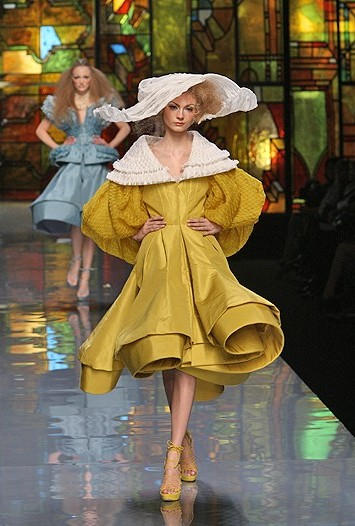 Christian Dior spring couture 2009