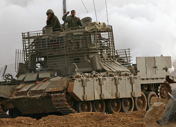 The Israeli military action in Gaza beagn on Dec. 27.
