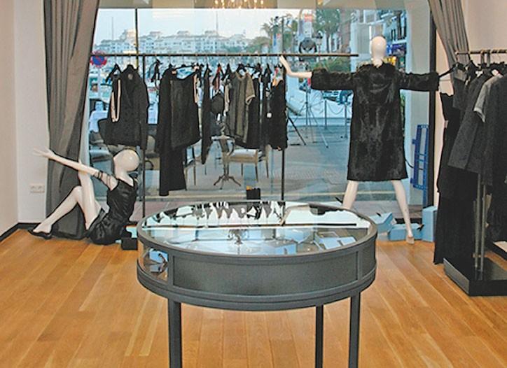 Lanvin's Paris boutique.