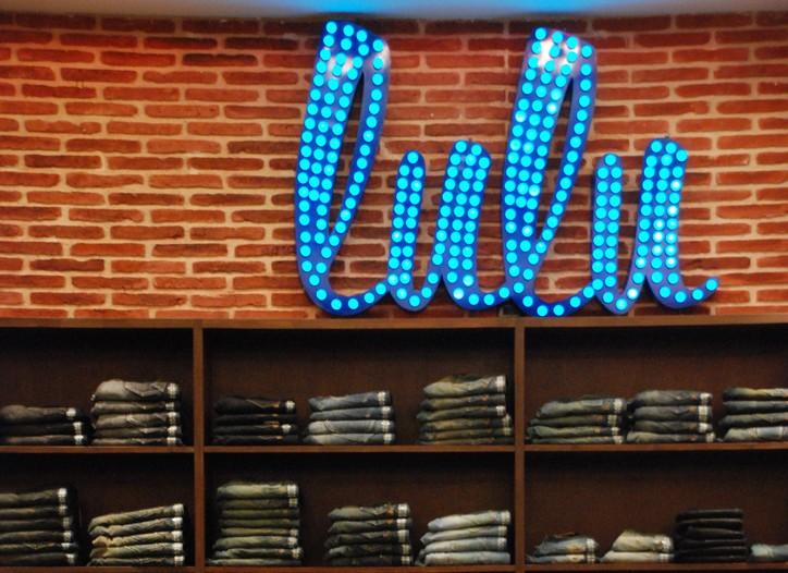 Lulu's zinc denim bar.