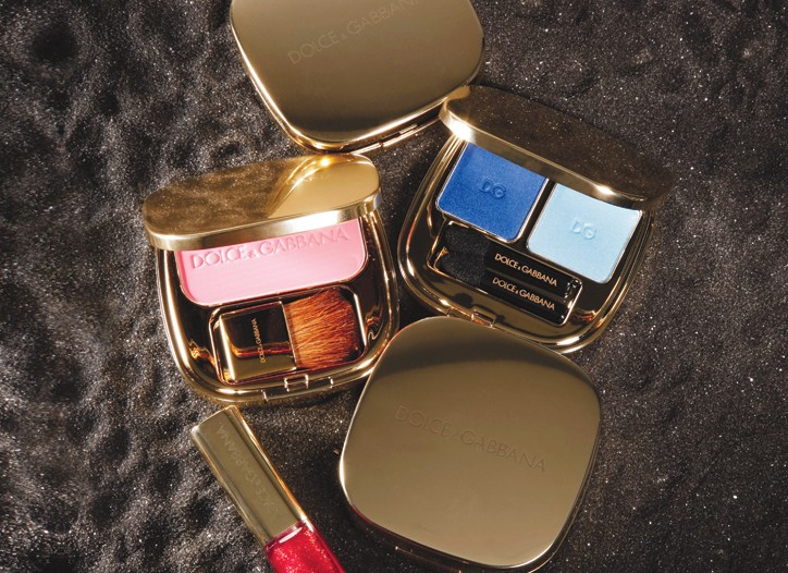 Domenico Dolce and Stefano Gabbana's first color cosmetics collection, due in February.