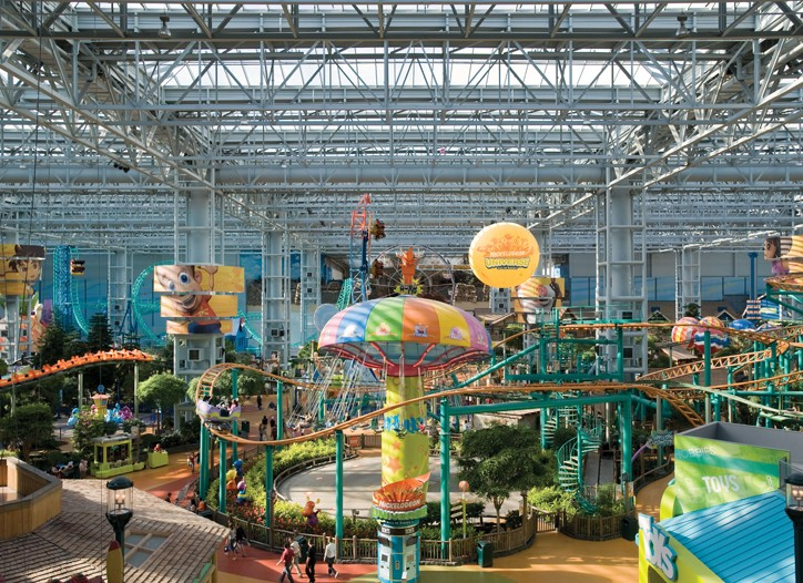 The Mall of America is offering GWPs for its on-site amusement park.