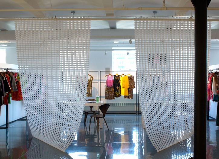 Japanese in-store shops will mimic Tibi's new Manhattan showroom designed by ArchLAB.