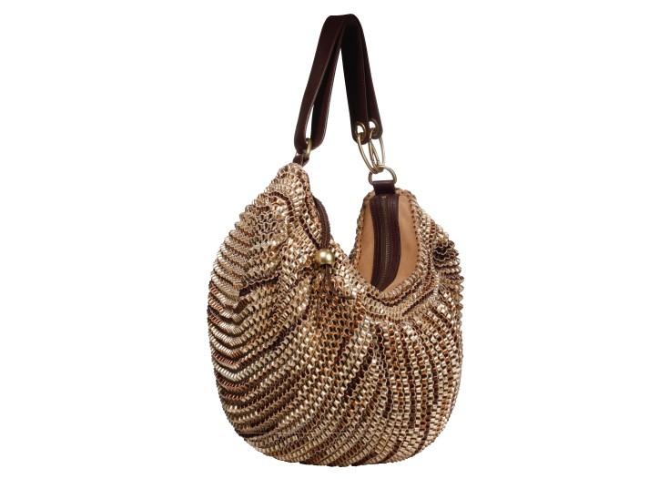 Diane von Furstenberg leather bag