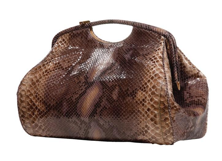 Jane August python bag