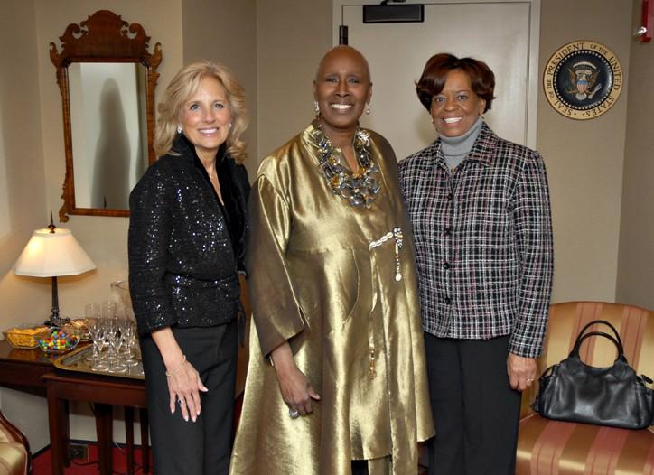 Jill Biden, Judith Jameson and Marian Robinson