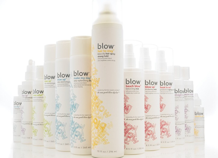 Blow's new product line.