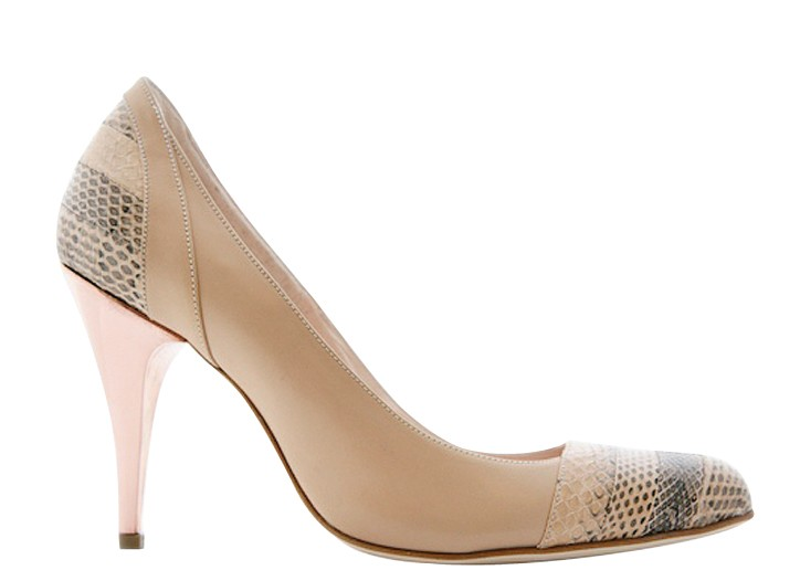 Thomas Murphy uses the metal for the heels of his handmade shoes.