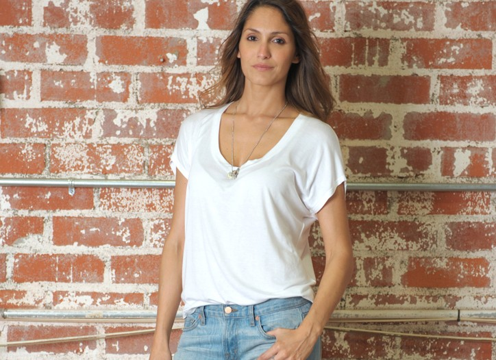 Distressed boyfriend jeans from J Brand Boutique.