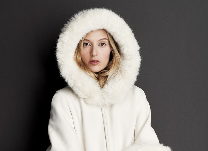 Lundström's recycled polyester and Lycra spandex parka for fall.