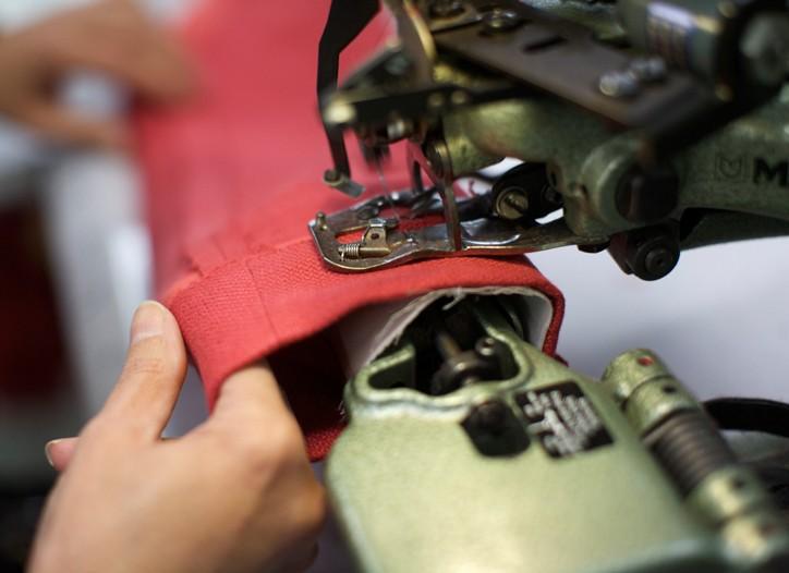 Inside the Max Mara factory in Reggio Emilia, Italy