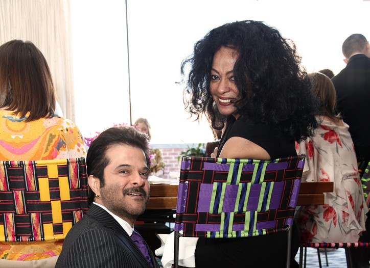 Anil Kapoor and Diana Ross