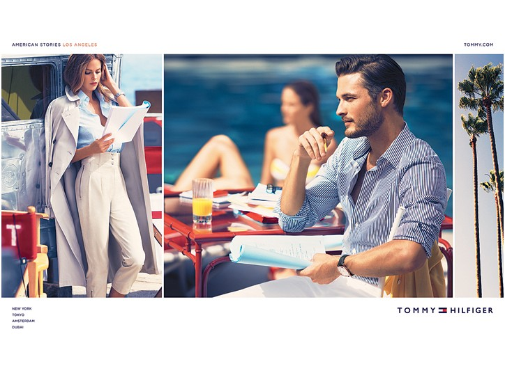 The latest Tommy Hilfiger campaign is shot throughout Los Angeles.
