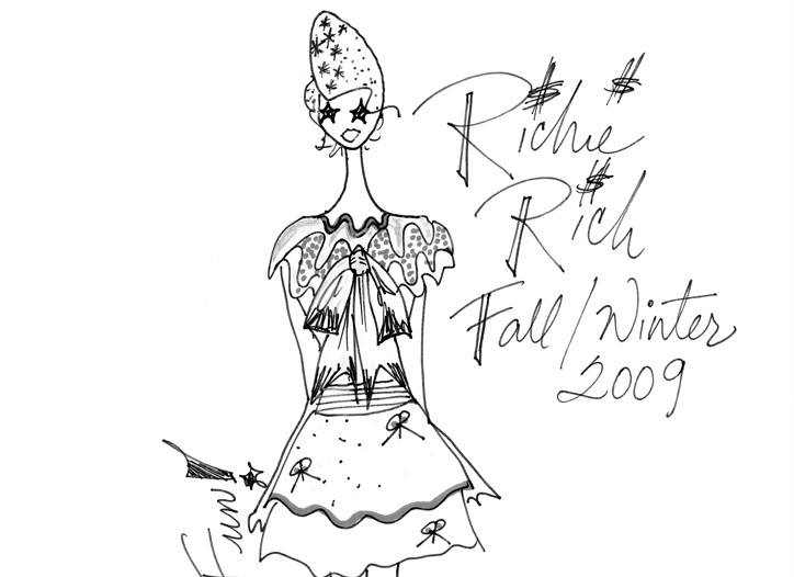 A sketch from Richie Rich.