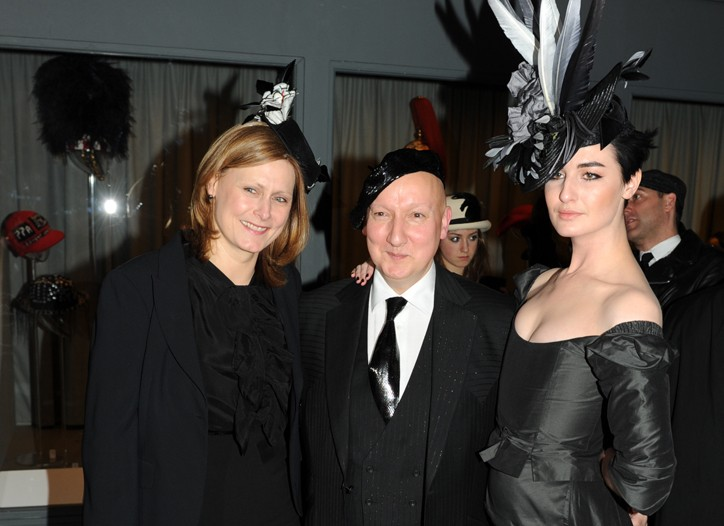Sarah Brown, Stephen Jones and Erin O'Connor