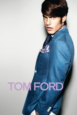 A shot from the Tom Ford spring campaign.