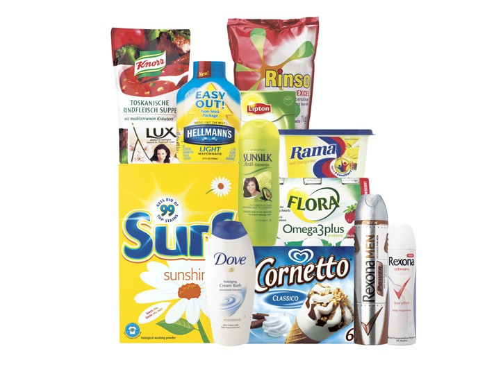Some of Unilever's top performers.