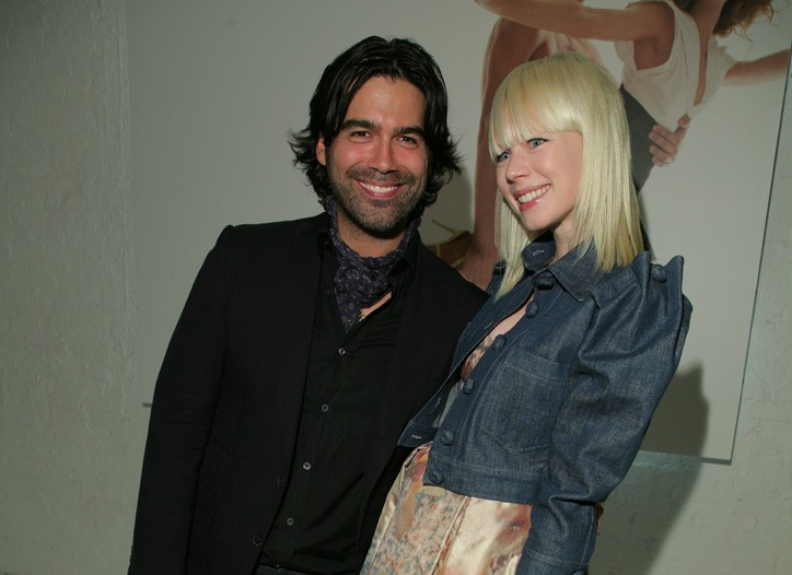 Brian Atwood and Erin Fetherston