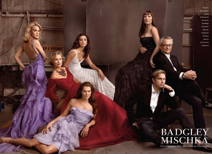 Annie Leibovitz's ad campaign for Badgley Mischka.