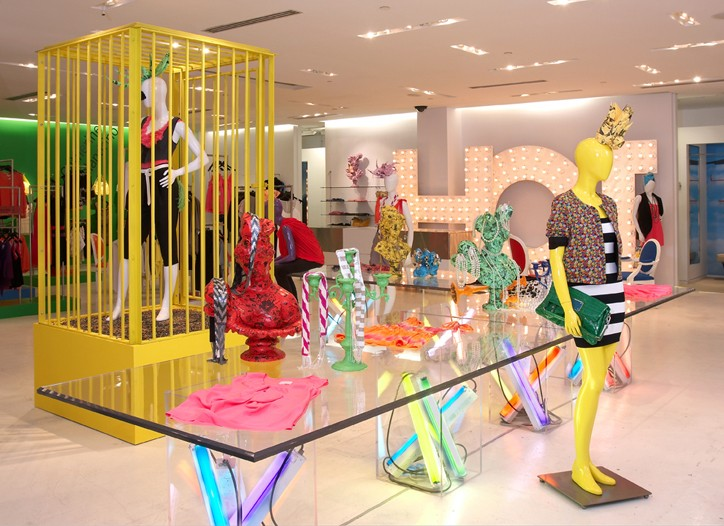 Glimpse from the newly redesigned Holt Renfrew contemporary space.
