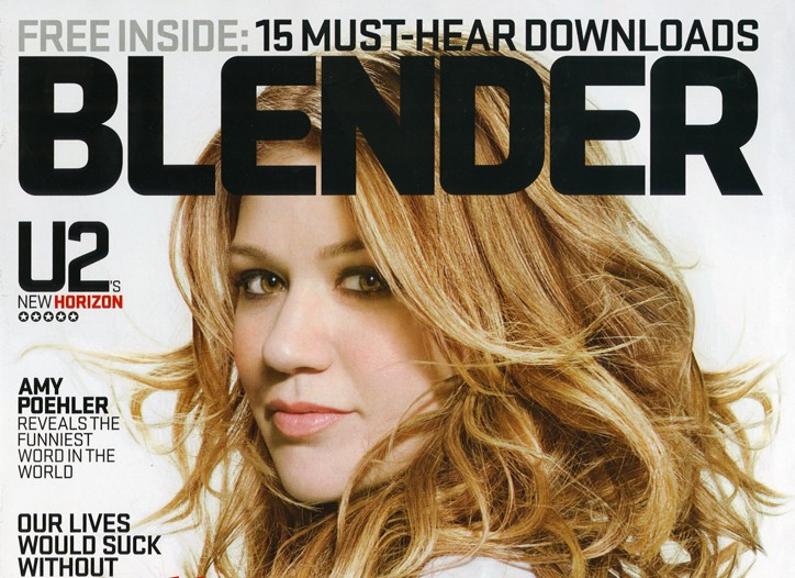 Blender magazine's April 2009 issue will be its last,