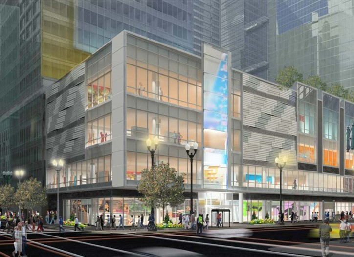 Block 37 will open this fall across from Macy's downtown Chicago store.