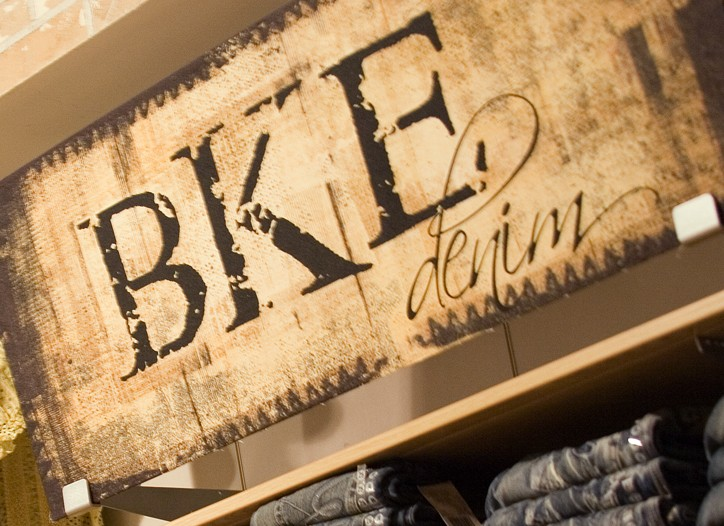 Buckle has positioned itself as a denim destination. Denim accounts for a third of its men's business.
