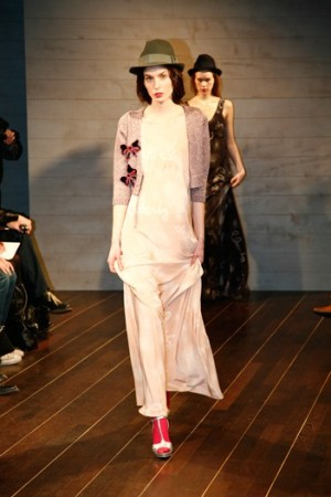 Cacharel's fall-winter '09 women's wear collection