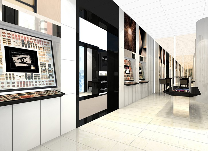 A rendering of the store.