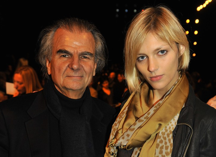 Patrick Demarchelier and Anja Rubik