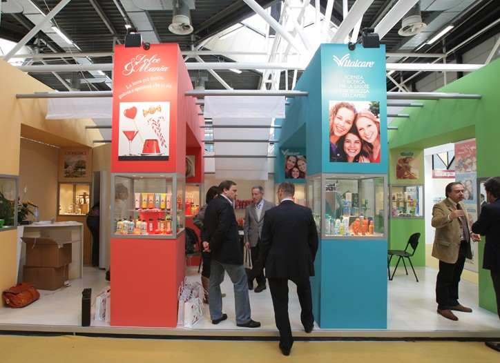 The scene at Cosmoprof Bologna last year.