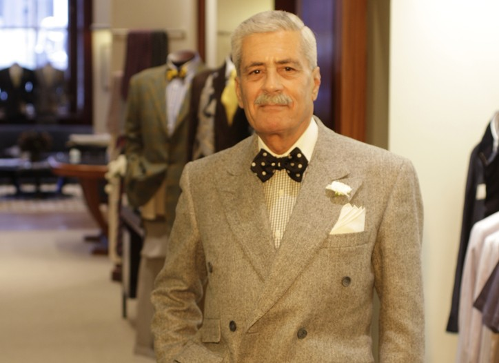 Domenico Spano will be feted with a dinner at Saks tonight.