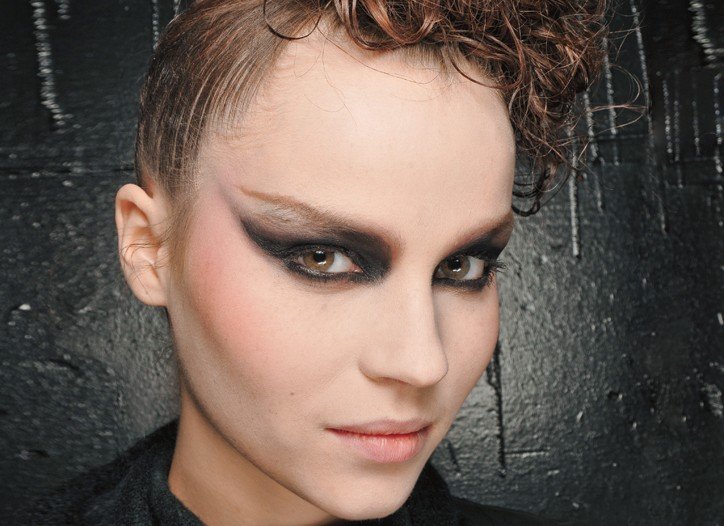 On the New York fall runways, clean and natural took a backseat, with bold hair and makeup looks creating a beauty sensation.