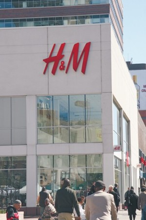 Currency effects weighed on profits at H&M.
