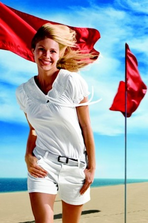 A summer '09 look from Izod.
