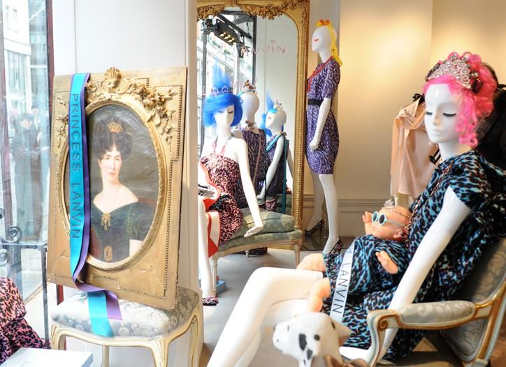 Lanvin's London boutique.