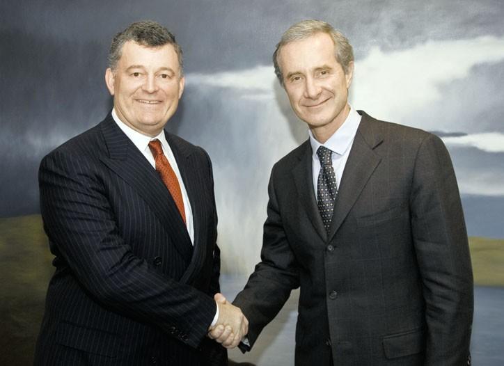 William P. Lauder and Fabrizio Freda