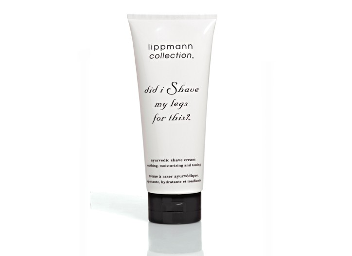 Lippmann Collection, Did I Shave My Legs For This? Ayurvedic Shave Cream