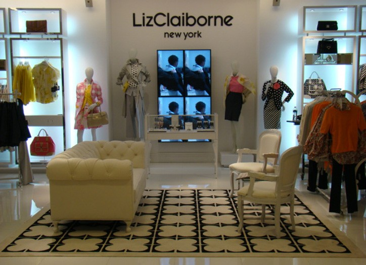 Liz Claiborne's new shop-in-shop in Macy's Herald Square, which opened this week.