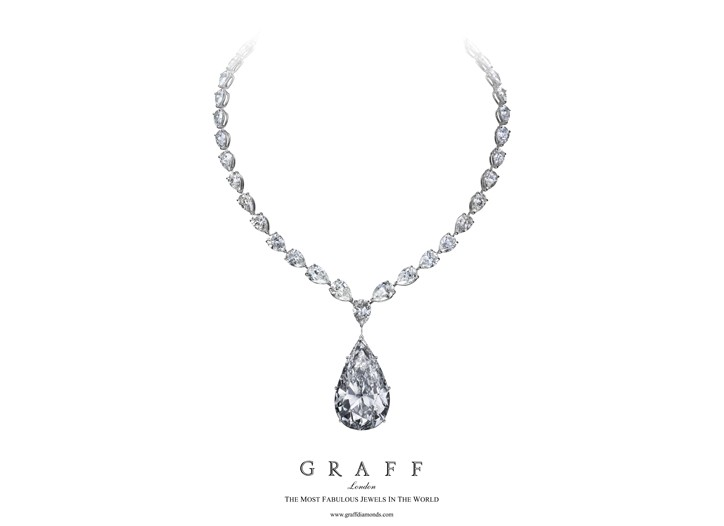 Graff's Flame necklace.