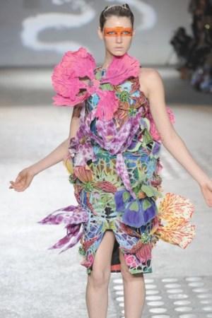 Manish Arora's flower dress.