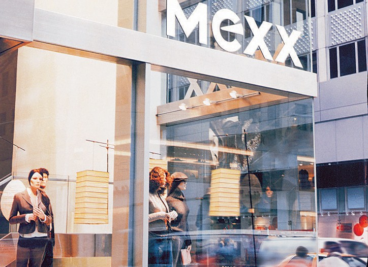 Mexx's sales dropped 29 percent in the fourth quarter.