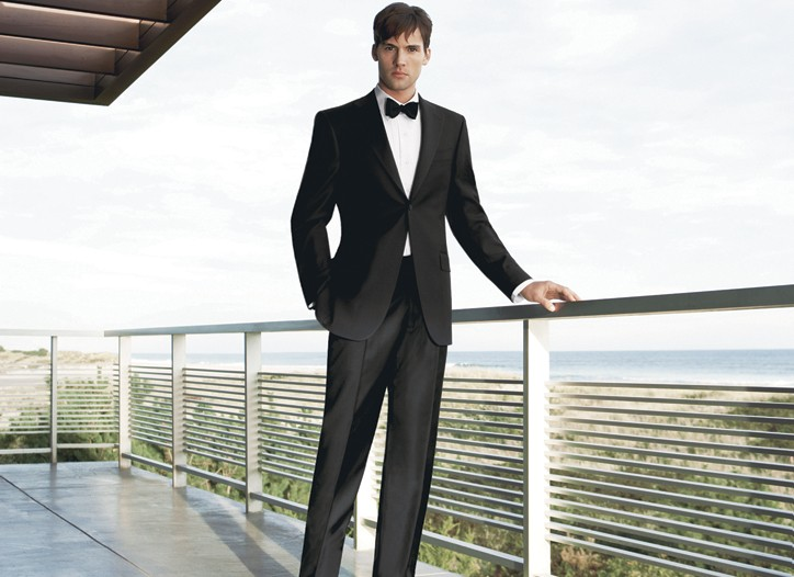 This tuxedo from the Capitol Collection is an off-the-rack version of what Obama will reportedly wear during the Inaugural Ball.
