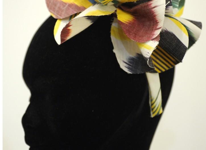 Benoit Missolin headband.