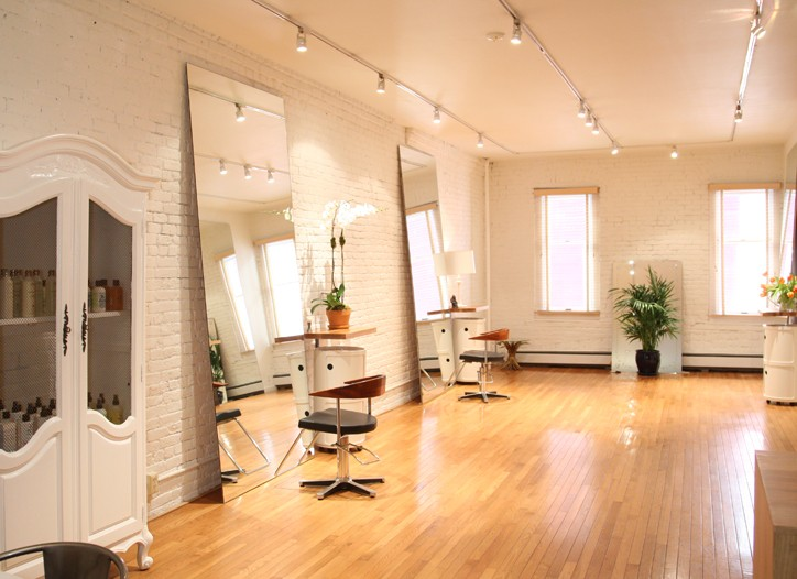 Sarah Mills' new studio.